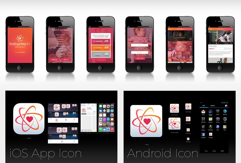 babystep.tv mobile app