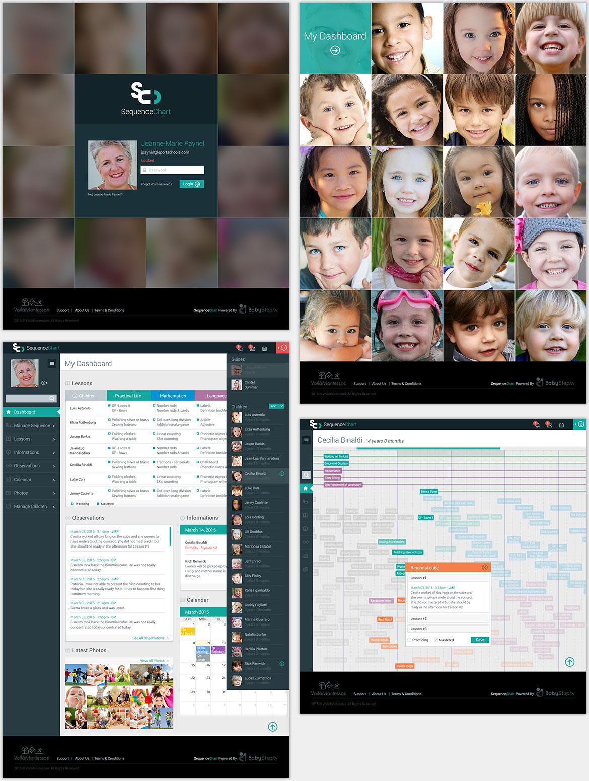 Voila Montessori Online Tool Prototype