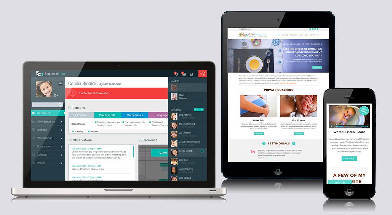 Voila Montessori Responsive Website